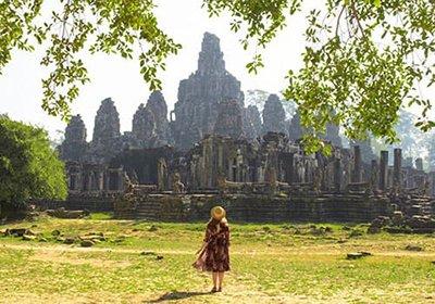 AngkorTemple BayonTemple1